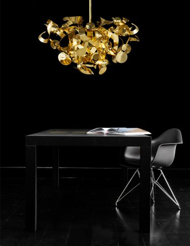 modern chandelier and lighting fixture from contemporary lighting collection brand van egmond for exclusive inetrior design and luxury homes