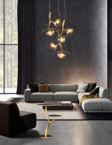 modern designer chandelier from contemporary lighting collection brand van egmond for exclusive interiors and luxury homes