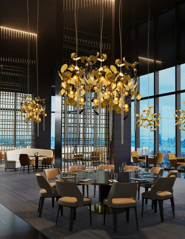 Hospitality Lighting Projects Modern Contemporary Hotel