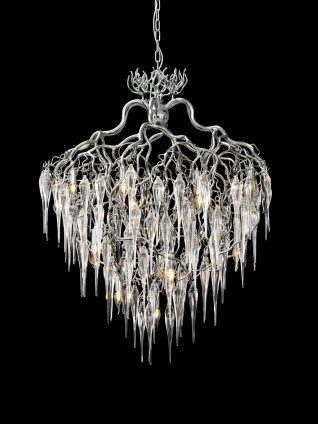 Hollywood Icicles Chandelier Conical Brand Van Egmond