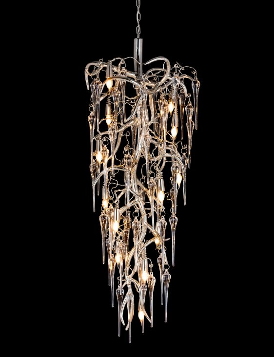 modern decorative chandelier from contemporary lighting collection brand van egmond for exclusive interior designs and luxury homes