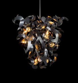 contemporary chandelier and modern lighting design black custom chandelier bespoke designer lighting