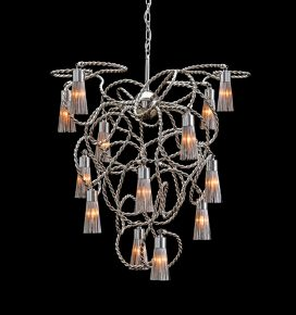 modern chandelier from contemporary lighting collection. exclusive modern lighting design for high end interior lighting