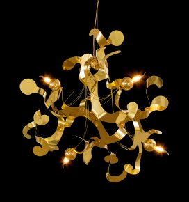contemporary chandelier from modern lighting design collection