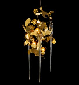 high end exclusive contemporary chandelier from modern lighting design collection Kelp Fortuna