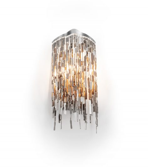 modern crystal wall lamp from contemporary lighting collection by brand van egmond