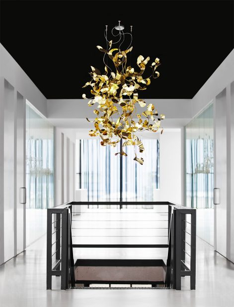 modern chandelier and light fixture from contemporary lighting collection in head quarter brand van egmond
