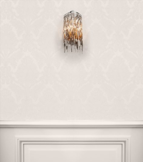 modern crystal wall light from contemporary lighting collection by brand van egmond