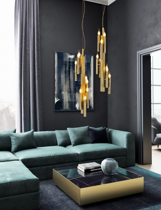modern mid century light fixture living room from contemporary lighting collection brand van egmond for exclusive interior designs and luxury homes